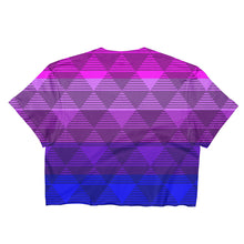 Trans Flag Pride Light Crop Top - LGBTQIA+
