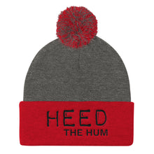 Heed The Hum Pom Pom Knit Cap Hat, Hats, HEED THE HUM
