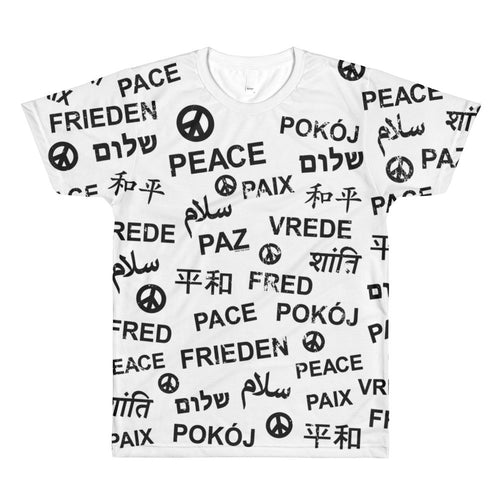Peace All-over Print Unisex T-shirt, Shirts, HEED THE HUM