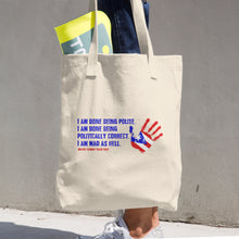 Mayor Carmen Yulín Cruz - Puerto Rico Relief Cotton Tote Bag, Tote Bag, HEED THE HUM