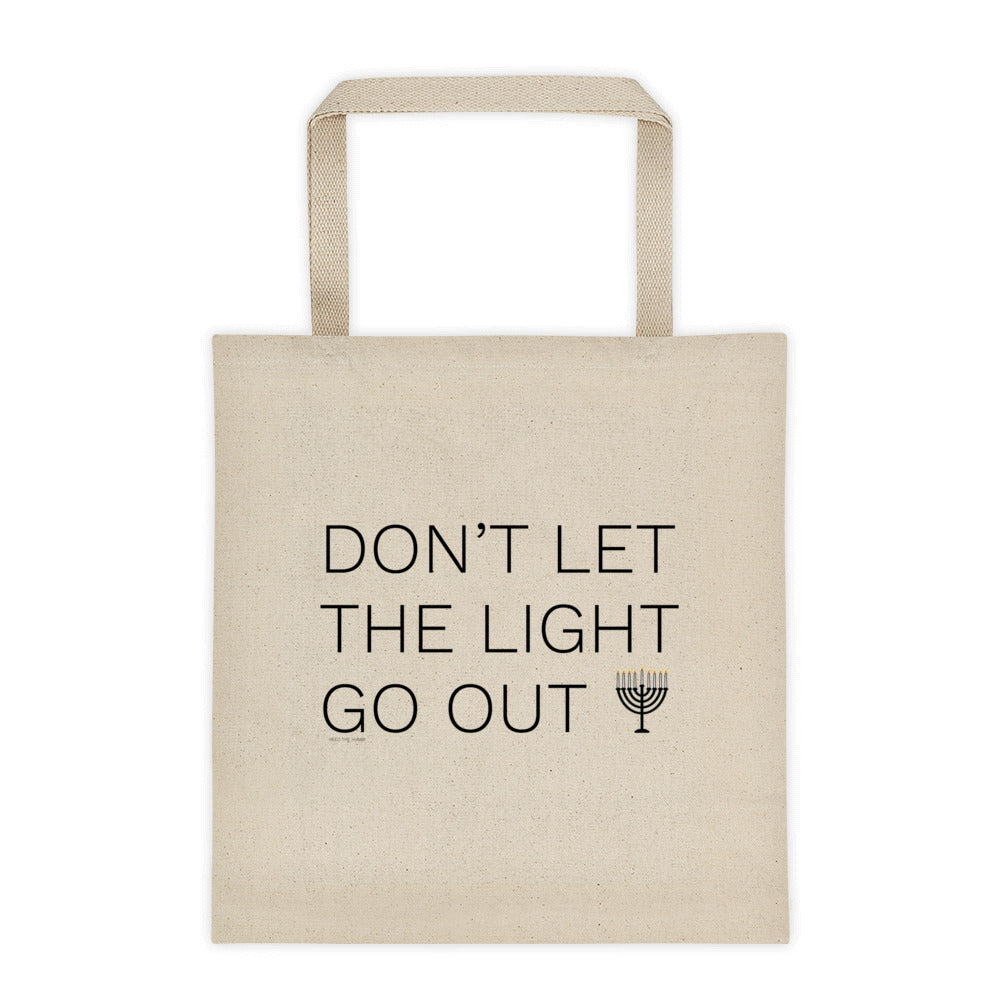 Don't Let the Light Go Out Tote bag, Tote Bag, HEED THE HUM