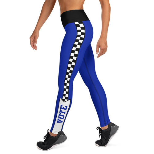 Race to Vote High Waisted Yoga Leggings, Leggings, HEED THE HUM