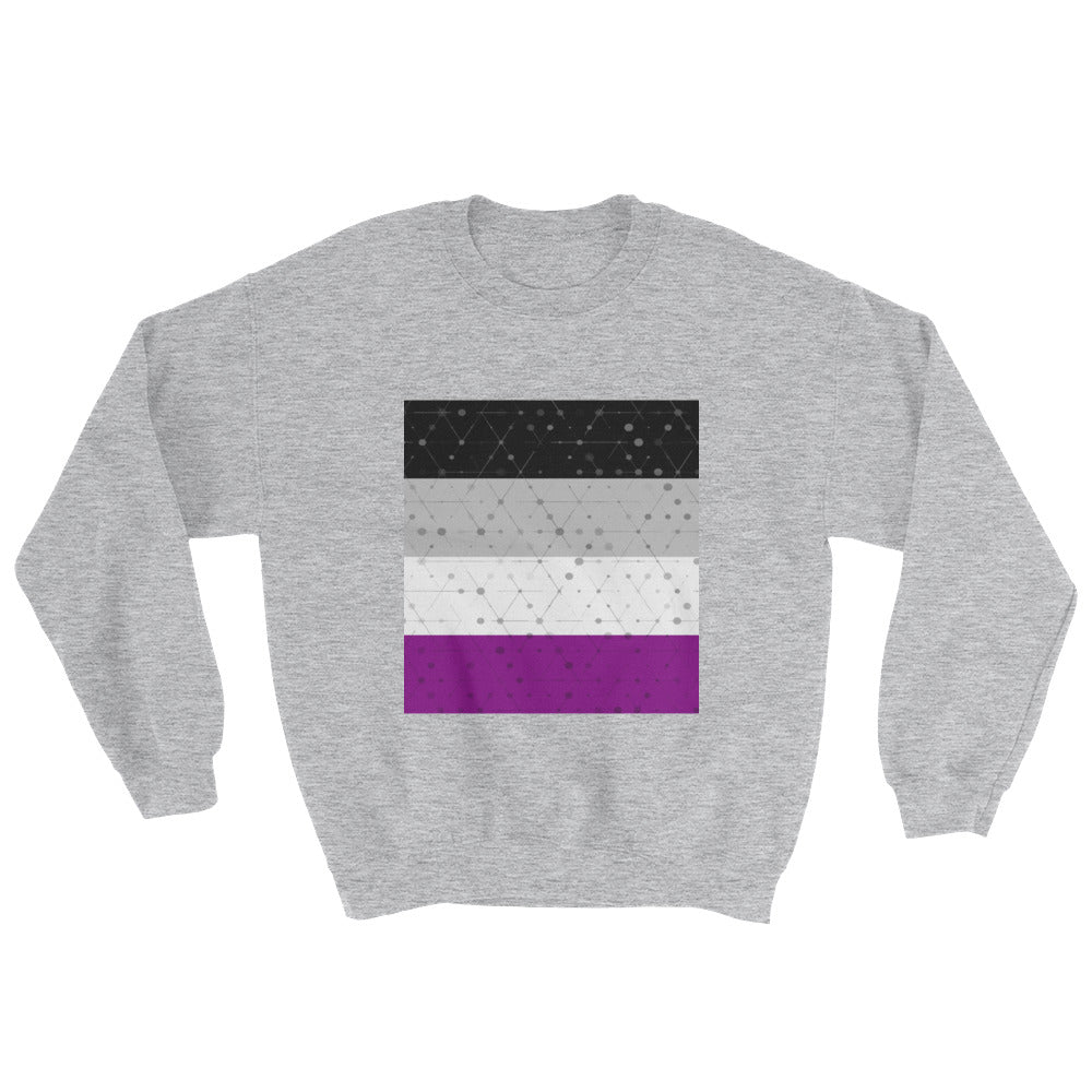 Asexual flag sweatshirt