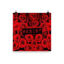 Roses Resist Poster, Poster, HEED THE HUM