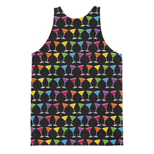 Martini Pride Party Unisex (double sided) Tank Top, Shirts, HEED THE HUM