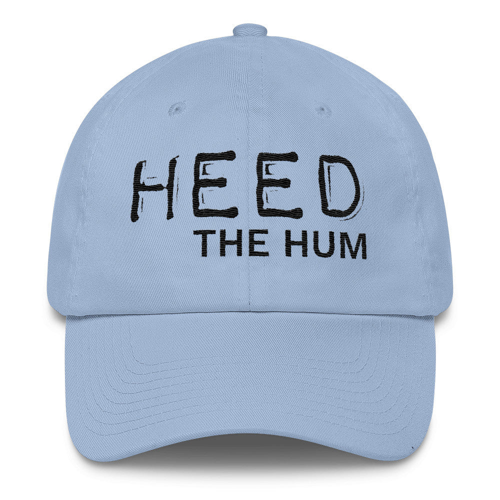 Heed The Hum Cotton Cap Hat, Hats, HEED THE HUM