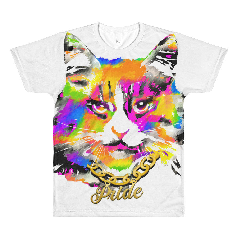 Pussy Pride All-Over Print Unisex T-shirt, Shirts, HEED THE HUM