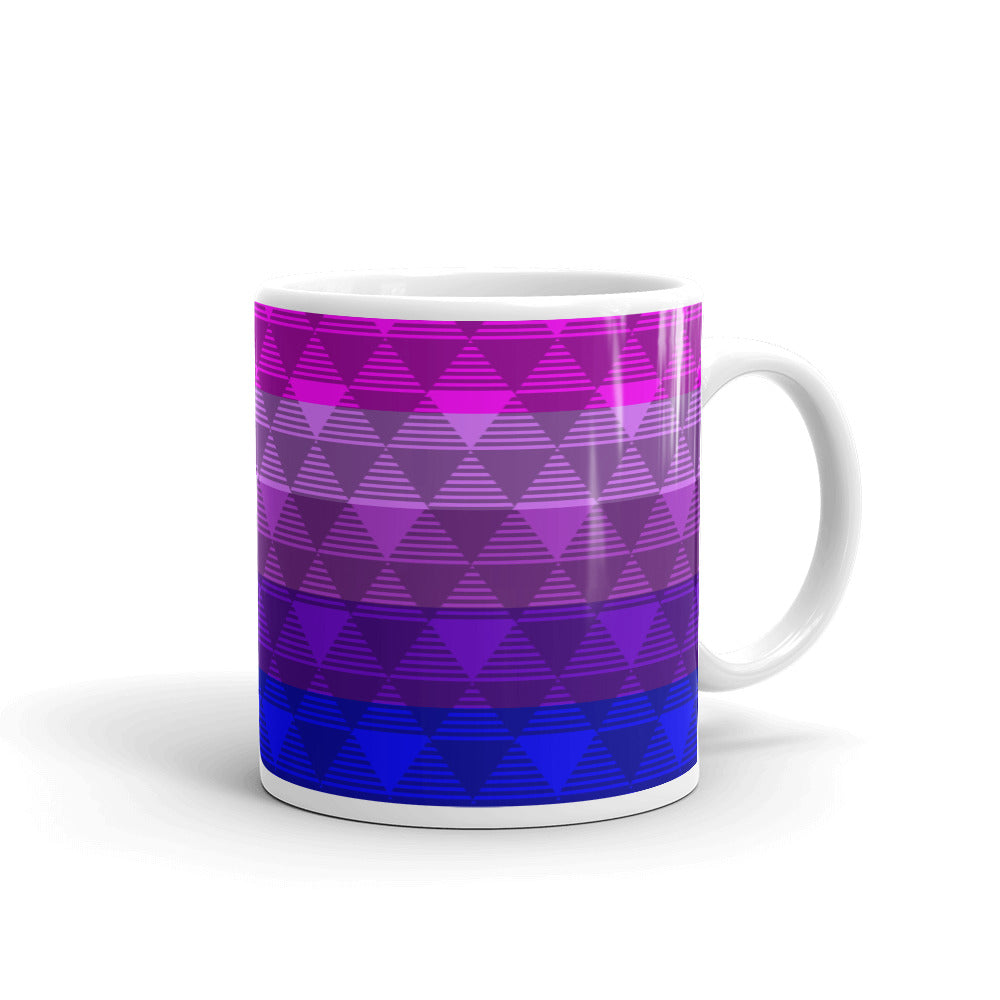 Trans Pride Flag Purple Mug -LGBTQ, Mugs, HEED THE HUM