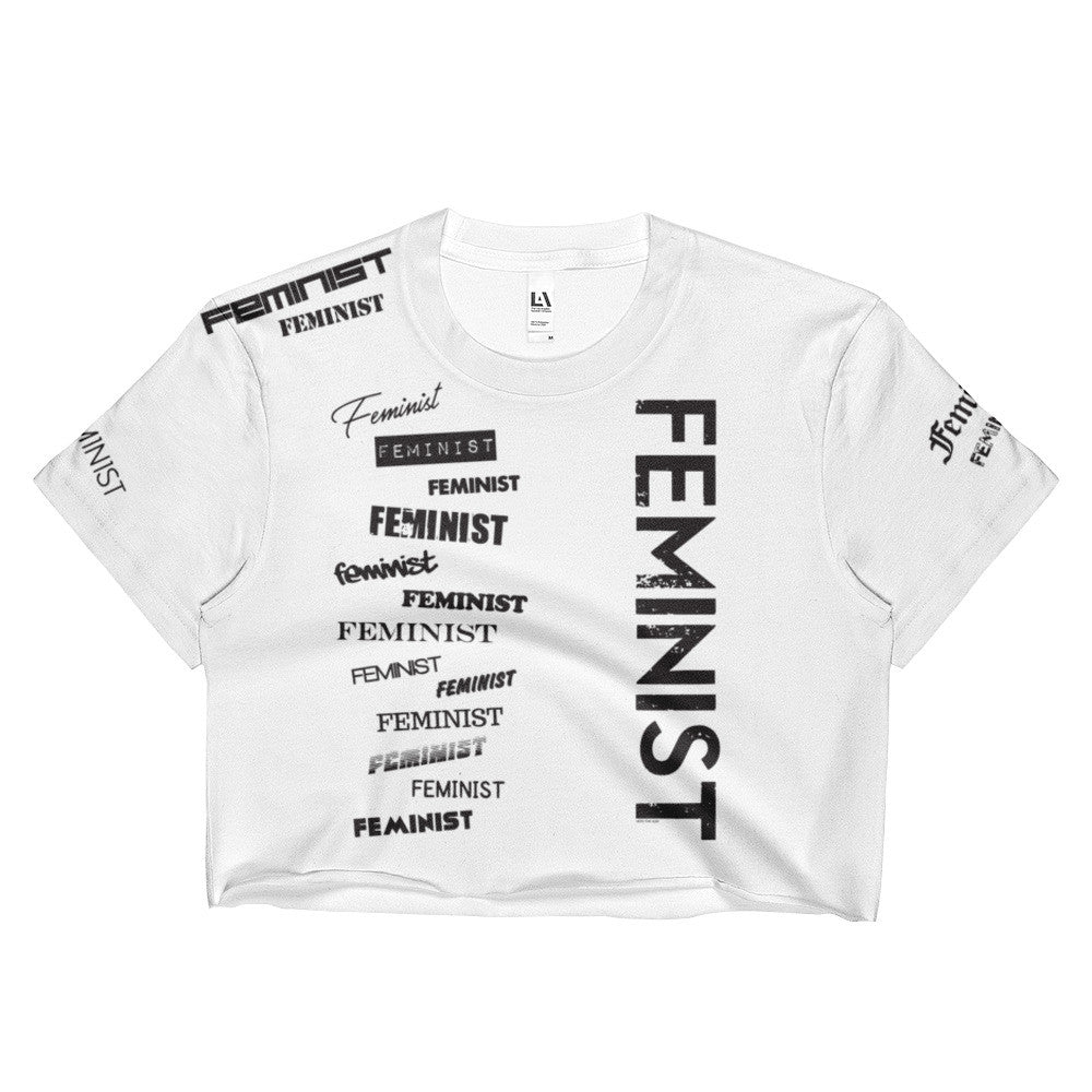 Feminist Crop Top, Shirts, HEED THE HUM