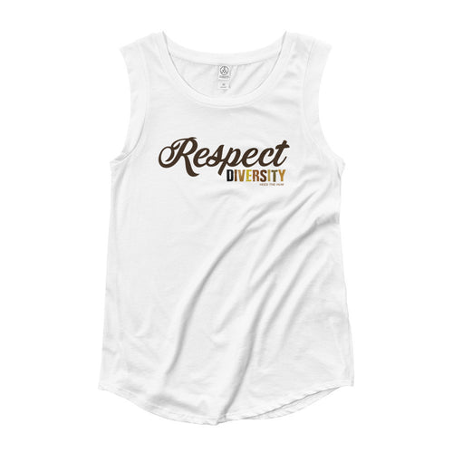 Respect Diversity Woman's Cut Tank Top, Shirts, HEED THE HUM