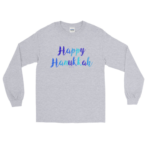 Happy Hanukkah Long Sleeve Unisex T-Shirt, Shirt, HEED THE HUM