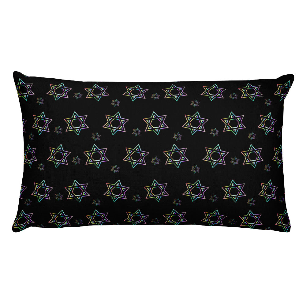 Things Will Be Better - YIHYEH TOV Rectangular Pillow, Pillow, HEED THE HUM