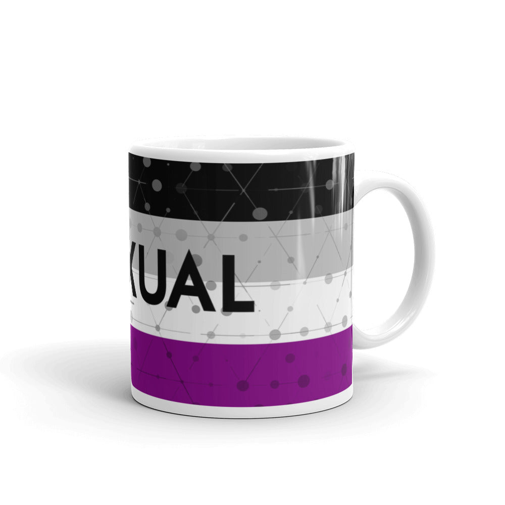 Asexual Pride Mug - LGBTQIA+, Mugs, HEED THE HUM