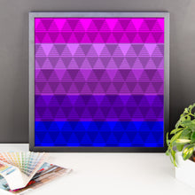 Trans Flag Framed poster, Poster, HEED THE HUM