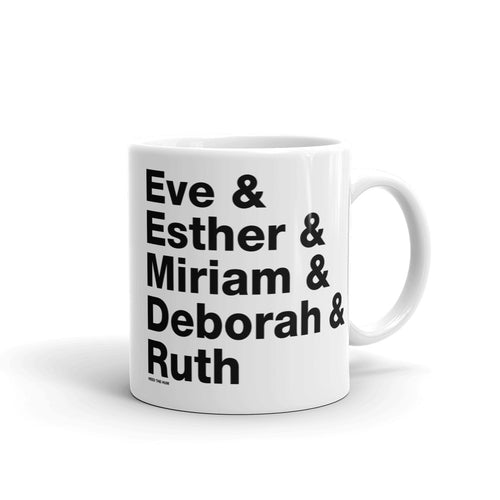 Women in the Bible Mug