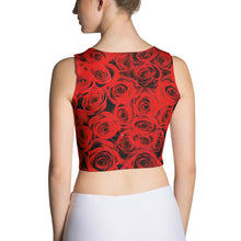 Roses Resist Fitted Crop Top