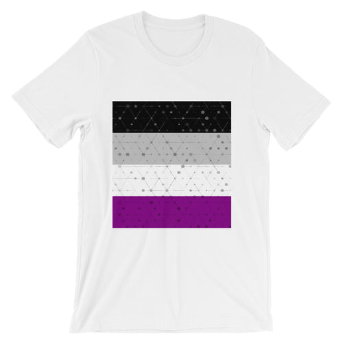 Asexual Flag Unisex T-Shirt, Shirt, HEED THE HUM