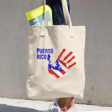 Puerto Rico Relief Cotton Tote Bag, Tote Bag, HEED THE HUM