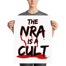 The NRA is a Cult Activist Poster, Poster, HEED THE HUM