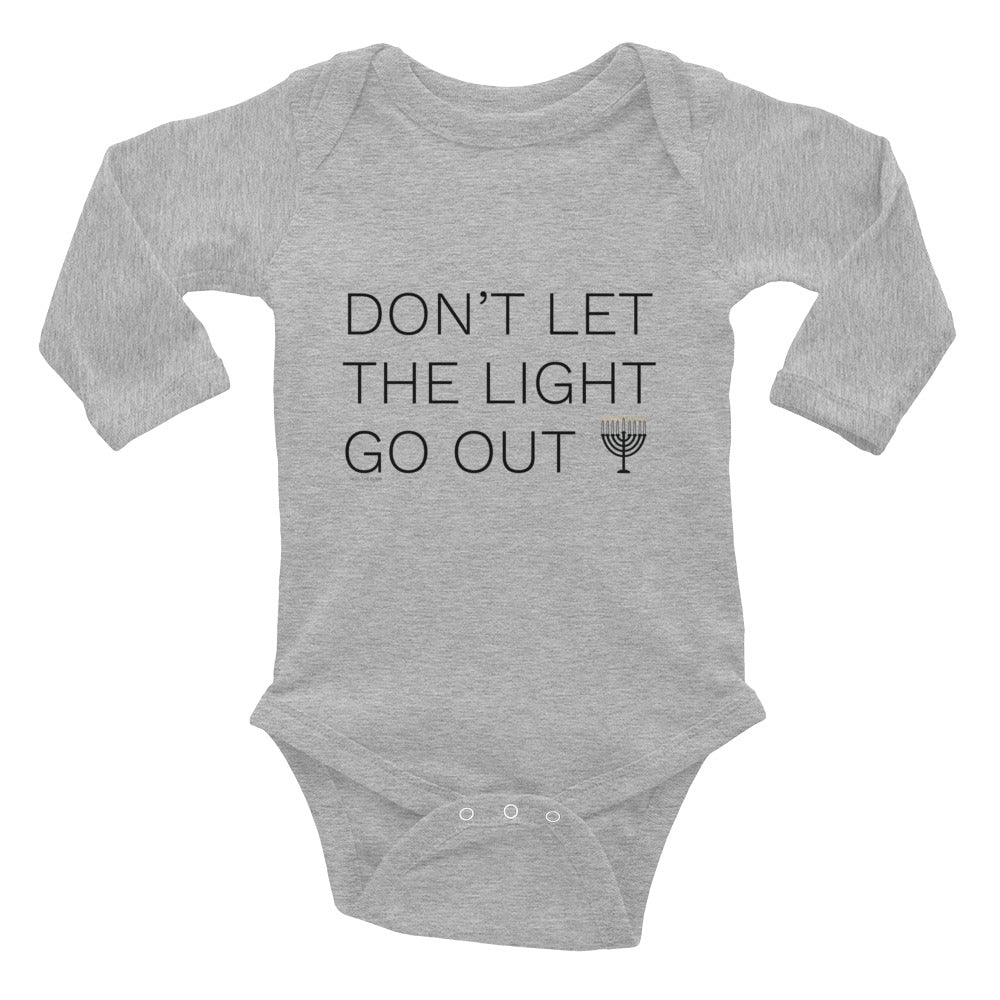 Don't Let The Light Go Out Infant Long Sleeve Bodysuit Onesie, Kids, HEED THE HUM