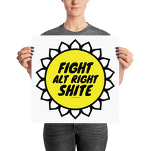 Alt Right Shite Activist Poster, Poster, HEED THE HUM