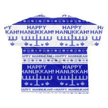 Happy Hanukkah Ugly Christmas Sweater kids sublimation T-shirt, Shirts, HEED THE HUM