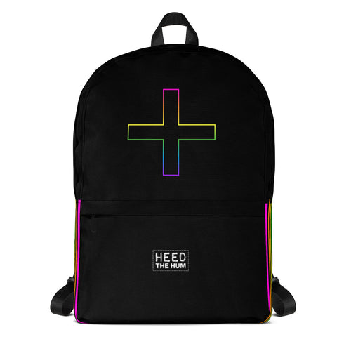 Rainbow Plus Unisex Backpack - LGBTQIA+