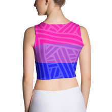 Bisexual Pride Flag fitted crop top LGBTQ LGBT BI