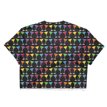 Martini Pride Party (double sided) Crop Top