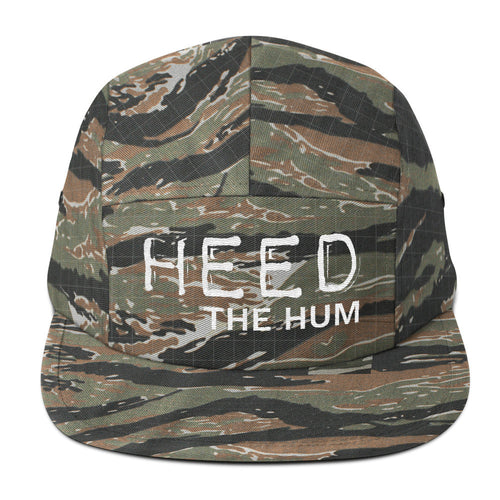Heed The Hum Five Panel Cap Hat, Hats, HEED THE HUM