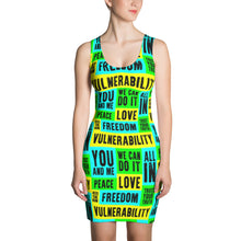 Vulnerability Sublimation Fitted Dress, Dress, HEED THE HUM