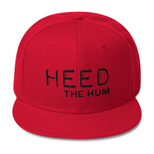 Heed The Hum Wool Blend Snapback Hat, Hats, HEED THE HUM