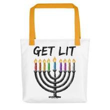 Chanukah - GET LIT Tote bag, Tote Bag, HEED THE HUM