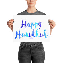 Happy Hanukkah Poster Decoration, Poster, HEED THE HUM