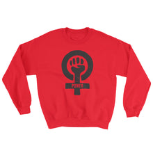 Feminist Power Unisex Crew Neck Sweatshirt, Sweatshirt, HEED THE HUM