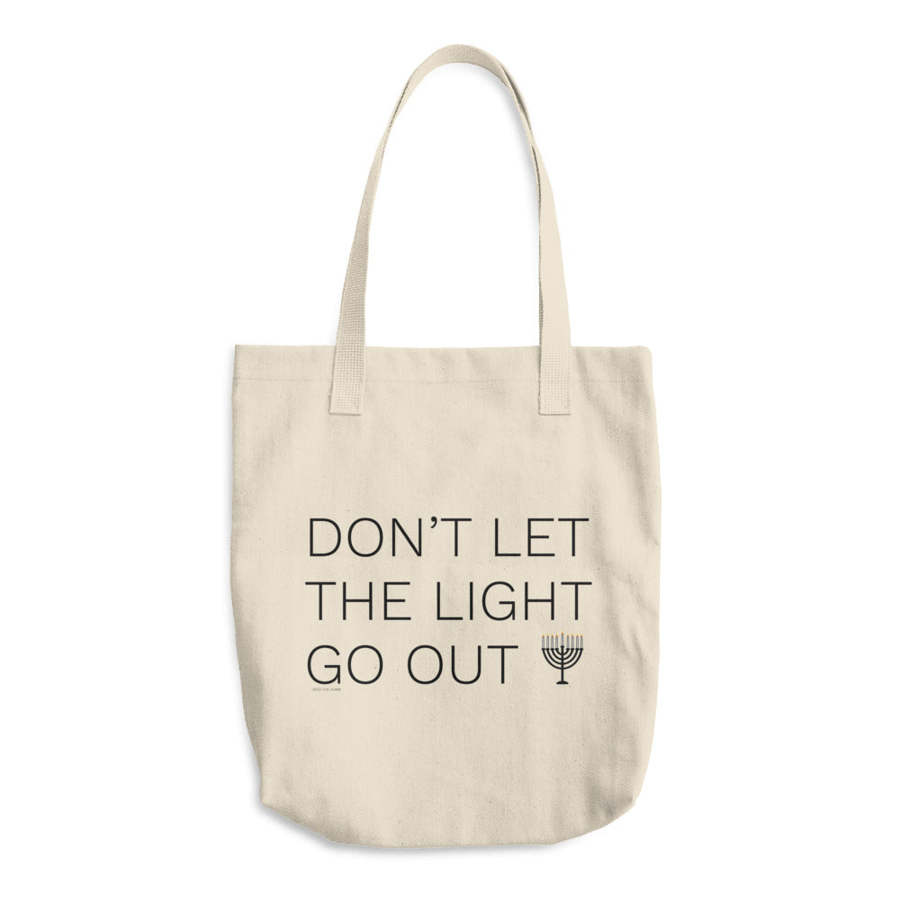 Don't Let The Light Go Out Cotton Tote Bag, Tote Bag, HEED THE HUM