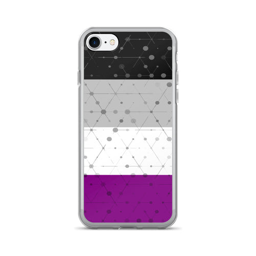 Asexual Flag iPhone 7/7 Plus Case, Phone Case, HEED THE HUM