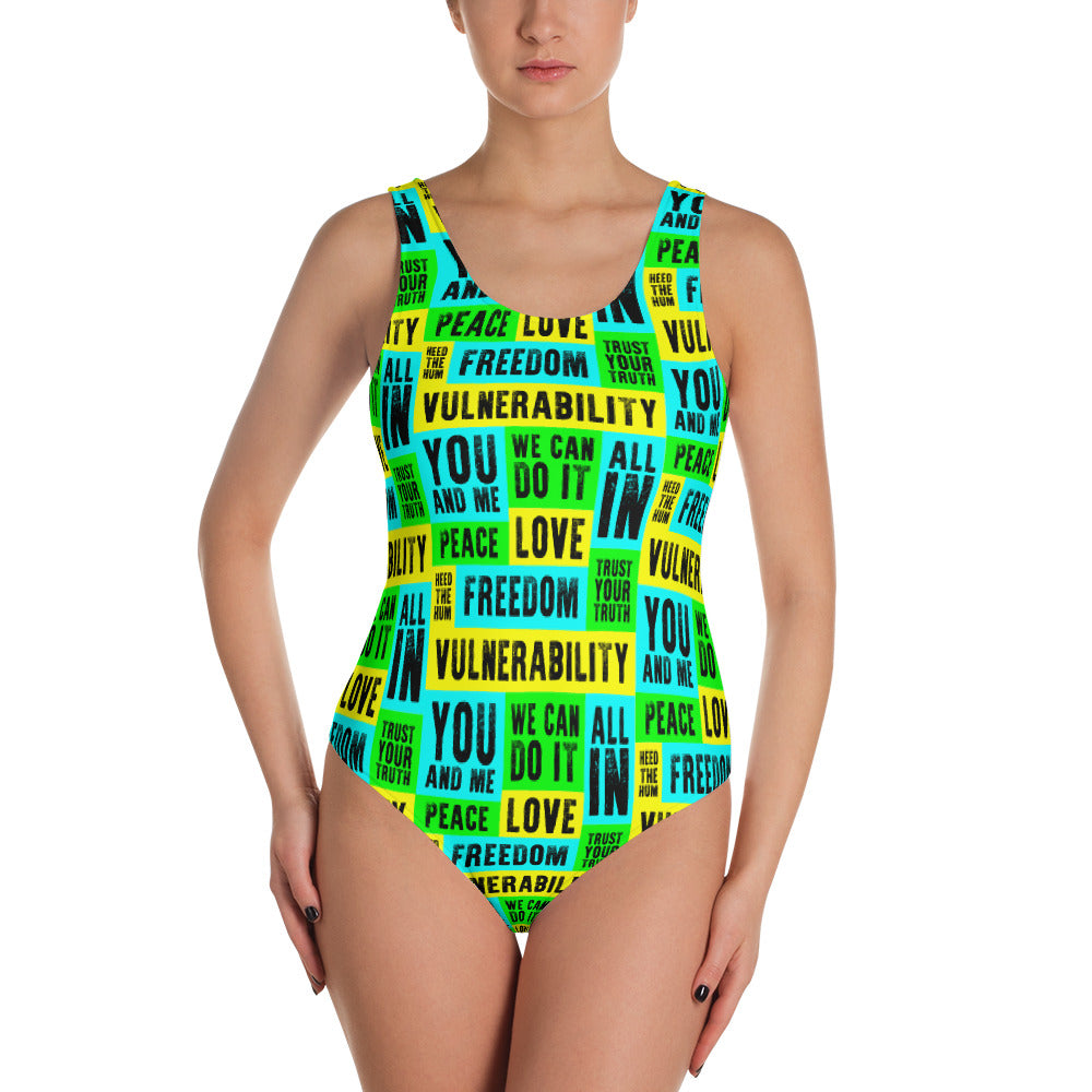 Vulnerability One-Piece Swimsuit