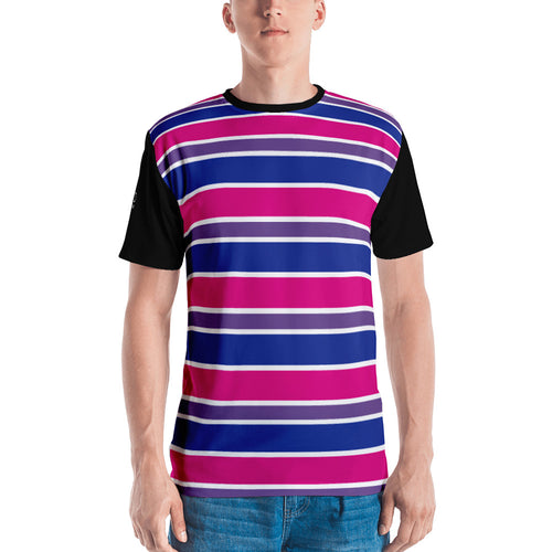 Bisexual stripes Unisex T-shirt - LGBTQ Pride, Shirts, HEED THE HUM