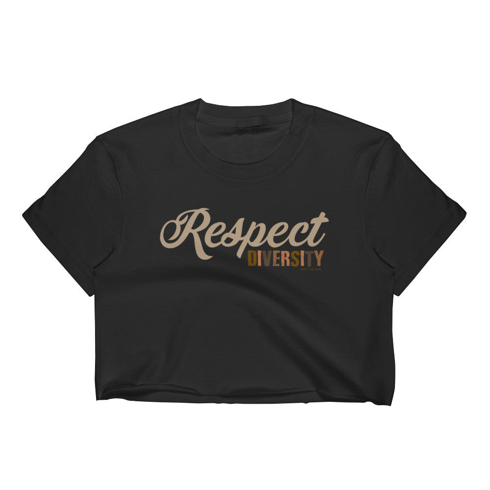 Respect Diversity Crop Top, Shirts, HEED THE HUM