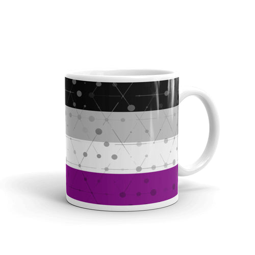 Asexual Pride Mug - LGBTQ, Mugs, HEED THE HUM