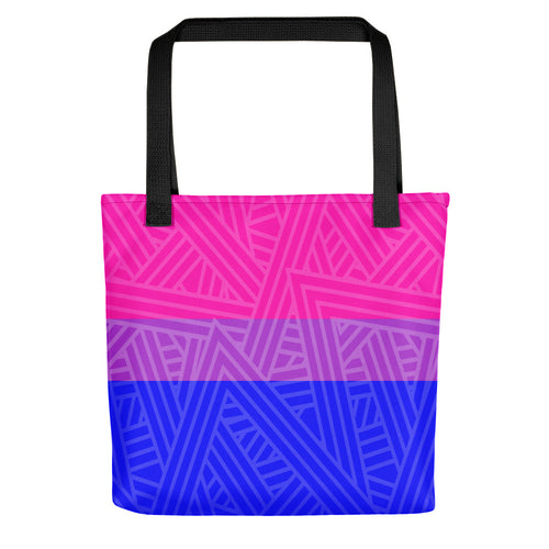 Bisexual Flag Tote bag - LGBTQ, Tote Bag, HEED THE HUM