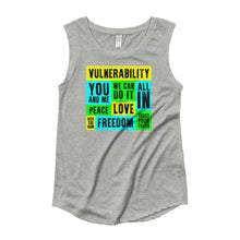 Vulnerability Woman's Cut Tank Top, Shirts, HEED THE HUM