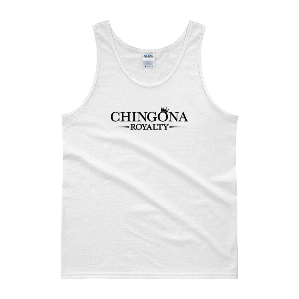 Chingona Royalty Unisex Tank top, Shirts, HEED THE HUM