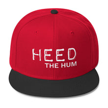 Heed The Hum Wool Blend Snapback Hat