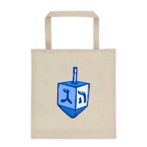 Dreidel Graphic Chanukah Tote bag, Tote Bag, HEED THE HUM
