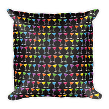 Martini Pride Party Square Throw Pillow, Throw Pillow, HEED THE HUM