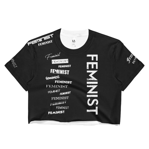 Feminist Crop Top, Shirt, HEED THE HUM