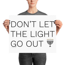 Don't Let The Light Go Out Poster, Poster, HEED THE HUM