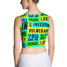 Vulnerability Fitted Crop Top